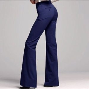 Body By Victoria Slacks Navy Blue Size 8 NWOT